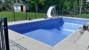 New Liner Installed prior to pool being filled