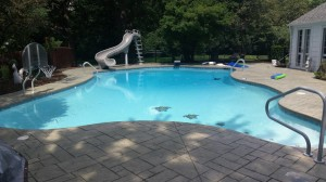 Pool renovation after 3 of 3
